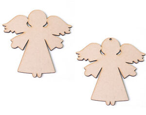 wooden mdf angels angel craft blanks christmas angel shapes