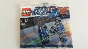 LEGO-polybag-8028-STAR-WARS-TIE-FIGHTER-NEUF-et-scelle