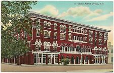 Hotel Albert in Selma AL Postcard