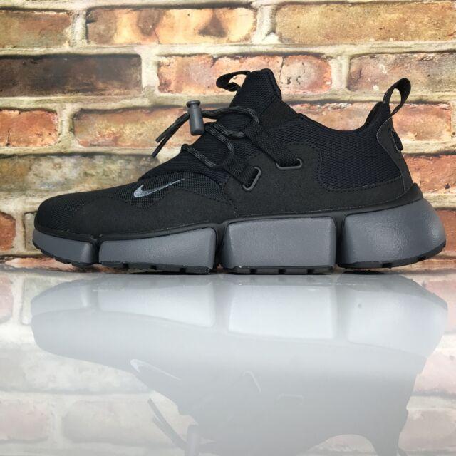 new concept b5b79 20c80 NIKE POCKETKNIFE DM Running Shoe Mens Size 11.5 Black Dark Grey 898033-003
