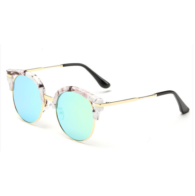Vintage Retro Women's Mirrored Sunglasses Shopping Outdoor Glasses Eyewear New
