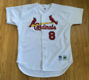 St-Louis-Cardinals-Vintage-90-s-Russell-Diamond-Collection-Jersey-48-XL-EUC