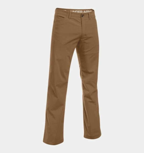 2b010f58a2baa Under Armour UA Storm Covert Tactical Pants Trousers Coyote Brown 44 30 36  Storm