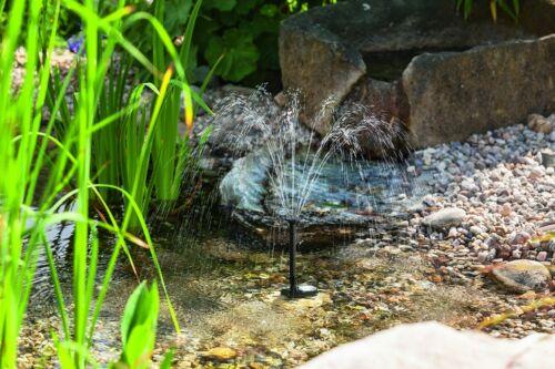 5 W Solarpumpe Teich Solar Tauchpumpe Teichpumpe Fontana Garten Springbrunnen