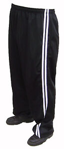 BIG TRACKSUIT BOTTOMS SILKY STRETCHY WAIST 2XL 3XL 4XL 5XL 6XL CASUAL COOL NEW