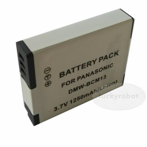 2 Paquete de Batería para Panasonic Lumix DMC-TZ55 DMC-TZ57 DMC-TZ60 DMC-TZ70 Cámara