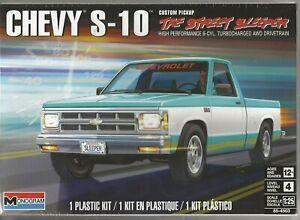 Monogram Chevy S-10 Custom Pickup 'The Street Sleeper' in 1/25 4503 ST  (102)