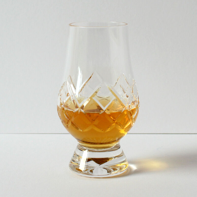 The Glencairn Official Cut Crystal Whisky Glass - Set Set Set of 2 (Printed Gift Carton) ed35f9