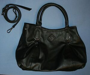Image Is Loading Simply Vera Black Purse Handbag Lots