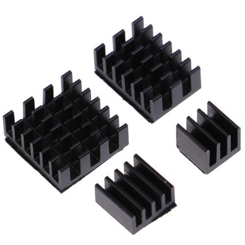 4 teile satz Aluminium Kühlkörper Kühler für Raspberry Pi 4CRH