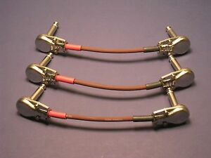 """3 Cables: 4""""-24"""" ~ Gn Evidence Audio Monorail Cable Ea ~ Switchcraft 226,228,280 3hnvwzh0-07184446-392001731"""