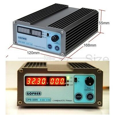 AC 110V/220V to 0-32V 5A Precision Adjustable DC Digital Switching Power Supply