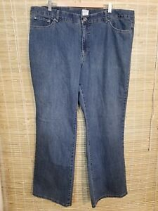 78c9649fd27 JMS JUST MY SIZE WOMEN S DENIM BLUE JEANS SIZE 24W COTTON BLEND 44 X ...