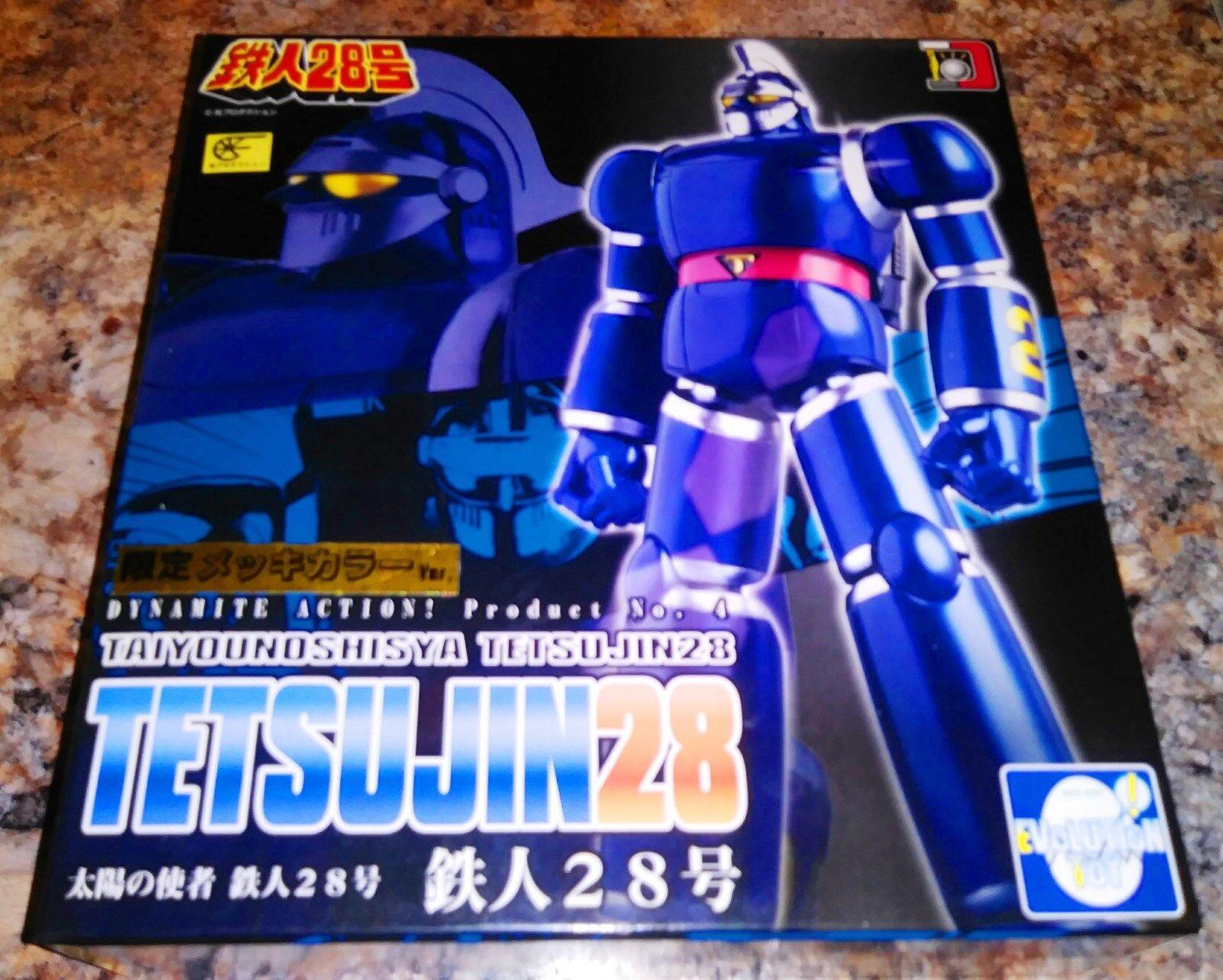 Dynamite Action   4.Taiyounoshisya TETSUJIN 28 limited color ver metallic.