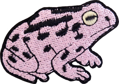 Fun TOADSTOOL MUSHROOM RAIN OUT Patch ~ Toad Frog Amphibian 73XO