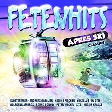 FETENHITS APRES SKI CLASSICS - DIE ATZEN/PETER WACKEL/DJ ÖTZI/HEINO/+ 2 CD NEU