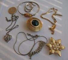 Lot de bijoux fantaisie d'occasion usagé  B57