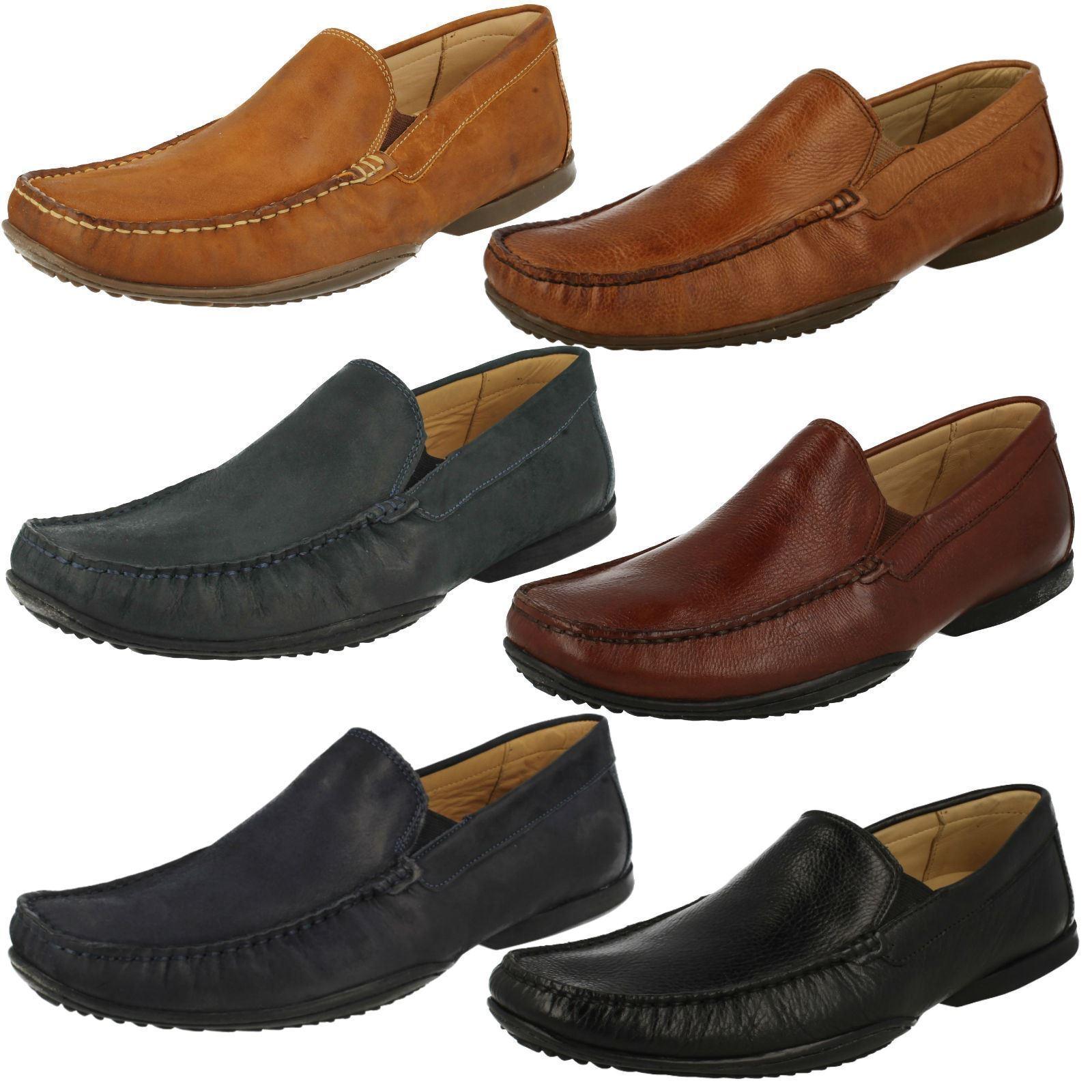 Mens TBVBRES grained leather slip on shoe by BNBTOMIC & CO £95.00