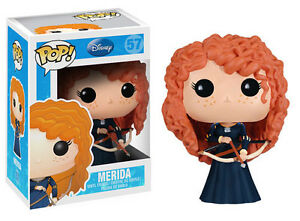 FUNKO POP MERIDA 57 THE BRAVE RIBELLE DISNEY 9 CM CARTOON PRINCIPESSA PRINCESS 1
