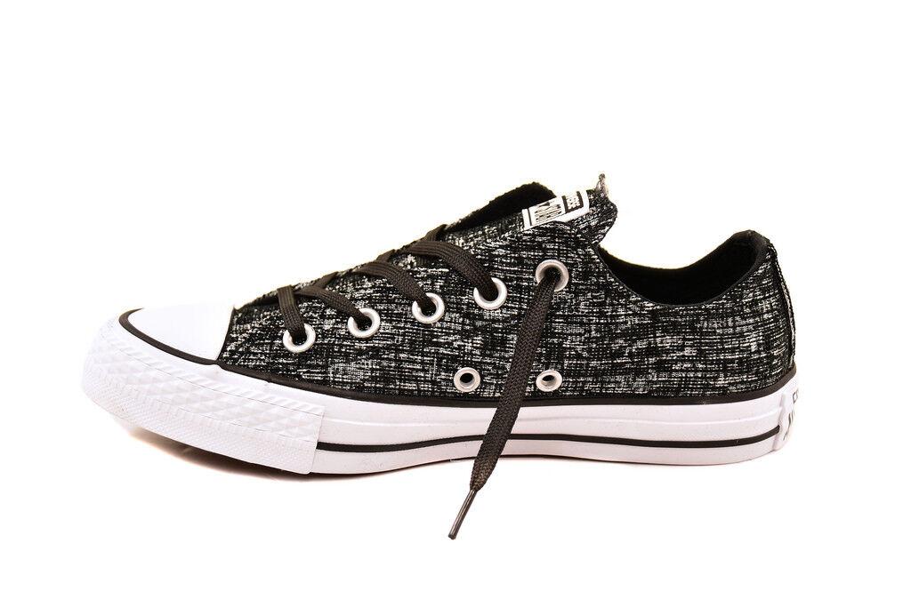 Converse Women CTAS Sparkle Sparkle Sparkle Knit 553414C Sneakers Black White UK5   BCF81 359568
