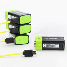New 9V 400mAh USB Rechargeable 9V Lipo Battery RC Battery For RC Camera / Drone