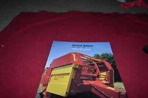 New Holland 848 853 855 Round Baler Dealer/'s Brochure DCPA