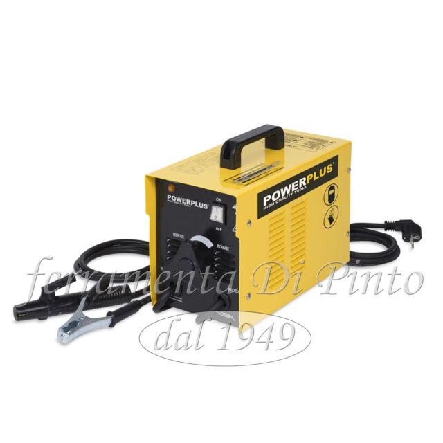 SALDATRICE SALDATORE ELETTRICO 55-160 A - 8 KW ELETTRODI 2-4 mm CON ACCESSORI