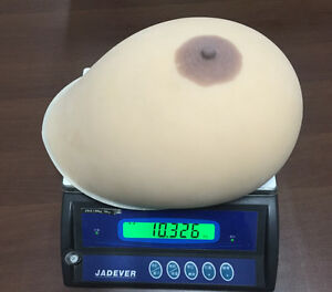 Image Is Loading 23xl 20kg Large Simulation Silicone Breast Forms Realistic