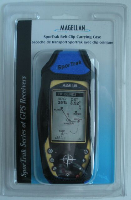 Magellan SporTrak Color (Blue) GPS Belt Clip Carry Case - 980630-03  NEW BLUE