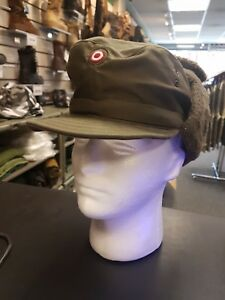 2e67ba8a17c Image is loading AUSTRIAN-ARMY-COLD-WEATHER-WINTER-FIELD-HAT-CAP-