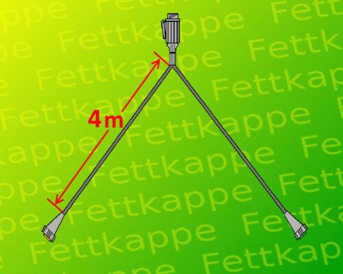 4 m Kabel Anhänger-Beleuchtung-Set 13polig Leuchtenset Aspöck Multipoint 4