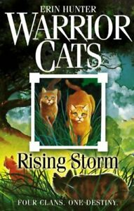 Warrior-Cats-4-Rising-Storm-by-Erin-Hunter-NEW-Book-FREE-amp-Fast-Delivery