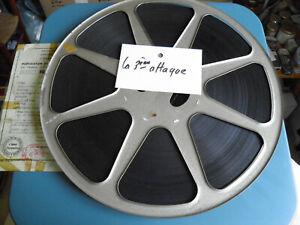 Film-16mm-CM-034-La-3eme-attaque-034-annees-50