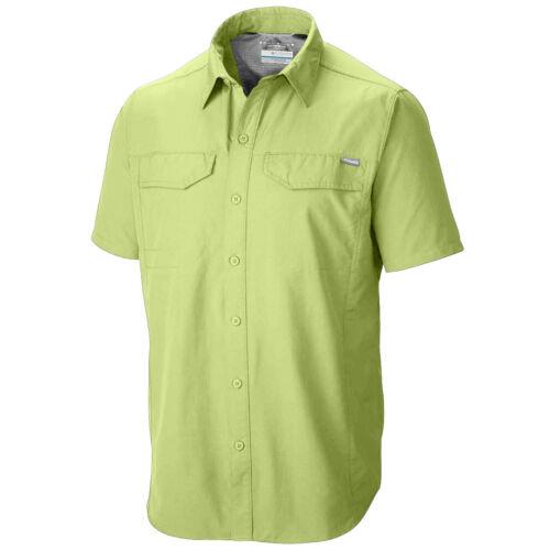 "New Mens Columbia /""Silver Ridge/"" Vented Omni-Wick Short Sleeve Shirt"