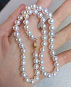 GENUINE-AAA-9MM-Akoya-WHITE-PEARL-NECKLACE-14K-gold-clasp-18-034
