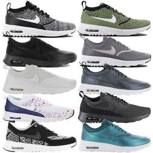 Nike-Air-Max-Thea-Sneaker-Femmes-Chaussures-Ultra-Premium-Baskets-Cuir-Flyknit