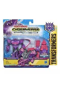 Transformers-Cyberverse-Spark-Armor-Shockwave-amp-Solar-Shot-2-Pack-BRAND-NEW