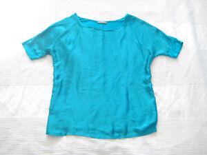 Das Bild wird geladen ORSAY-Bluse-SHIRT-1-2-Arm-tuerkis-gruen- 96cbebcfd5