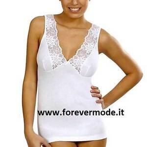 Intimates & Sleep Women's Clothing Camiseta Mujer Vajolet Algodón Con Forma La Seno E Tablero Encaje Largo Art 5374 Pure And Mild Flavor