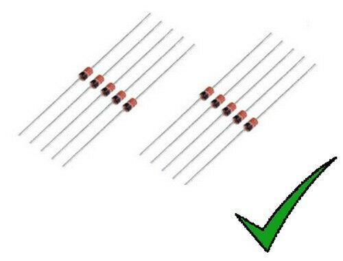10pz Zener Diode 24v 1,3w bzx85c24 bzx85c24v = 1n4749a
