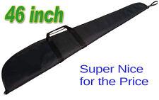 "46"" Shotgun, Rifle Econo Soft Gun Case 46 INCH BLACK FOR MOST SCOPED RIFLES"
