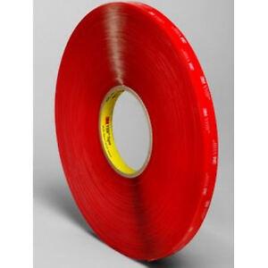 3M-VHB-Tape-4910-1-2-034-x-36-Yard-Rl-Double-Sided-Clear-Acrylic-Foam-Tape-40Mil
