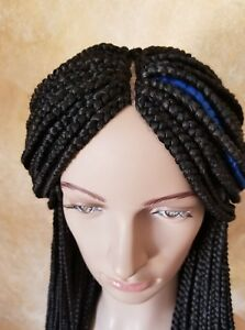 Fully-Handmade-26-039-039-to-28-039-039-Micro-Box-Braid-Wig-with-lace-Front-color-2