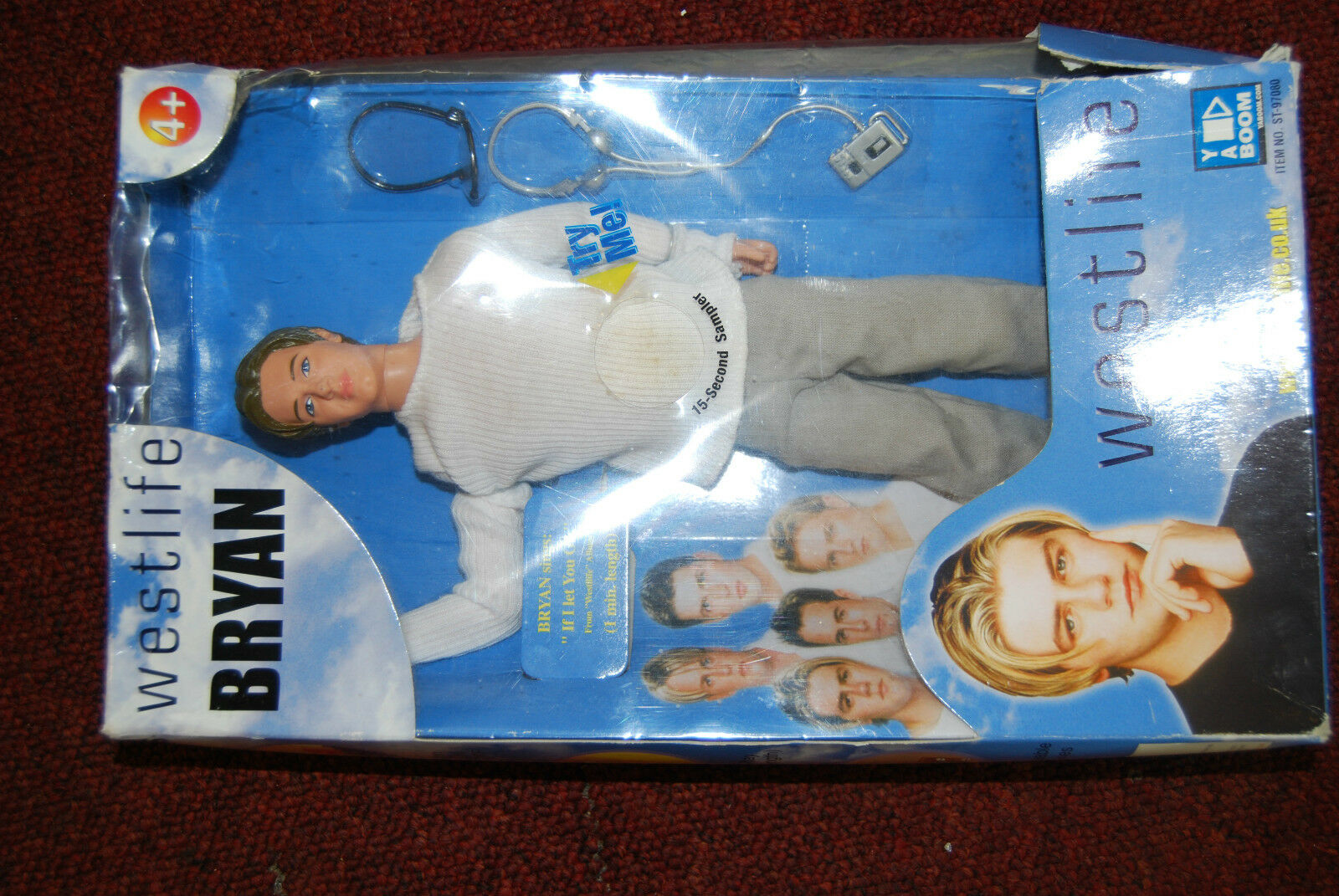West Life Bryan collectable Doll