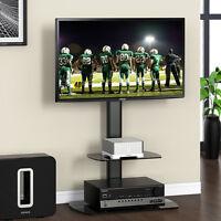 Fitueyes Tv Universal Stand Shelf With Mount Fits 32-50 Plasma Flat Panel Tvs