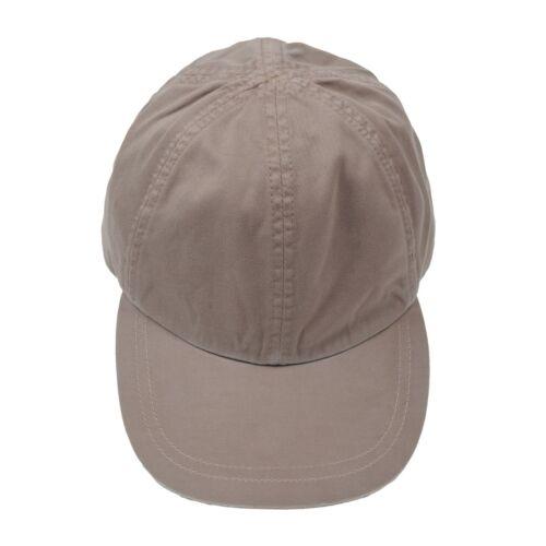 Brunello Cucinelli 100/% Cotton Beige Baseball Cap NEW SIZE IT MEDIUM BCH7