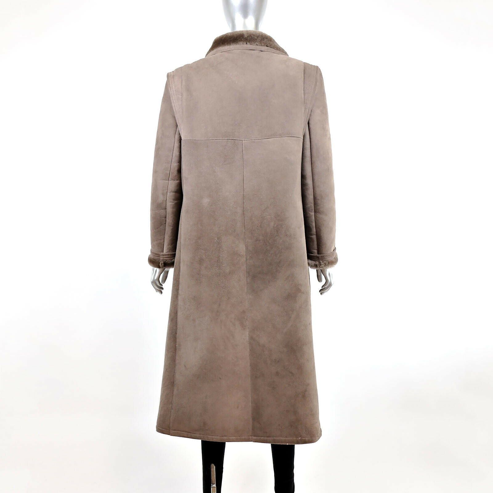 Full Length Shearling Coat- Size M-L (Vintage Fur… - image 4