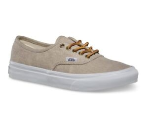 7c7d3c0730 Image is loading VANS-Authentic-Slim-Washed-Canvas-Cream-True-White-
