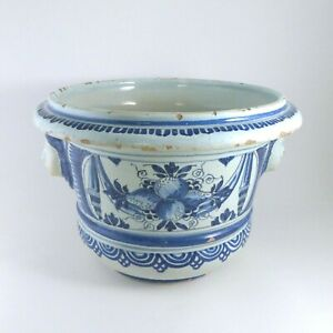Faience-de-Nevers-Pot-a-oranger-ou-Pot-a-herbe-XVIIIe