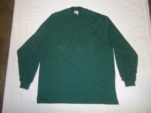 RAWLINGS MOCK TURTLE NECK LONG SLEEVE SHIRT VARIOUS SIZES AND COLORS